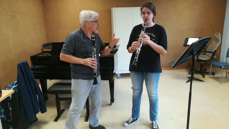 CLASES MAGISTRALES. PROFESOR: G. KRAXBERGER (CLARINETE)